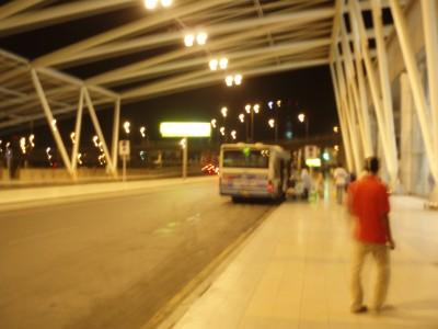カイロ国際空港のエントランス