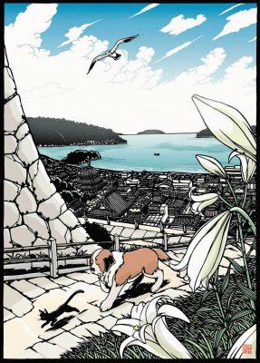 秋の新刊「ユメとバルーン 風吹く街で」イメージ